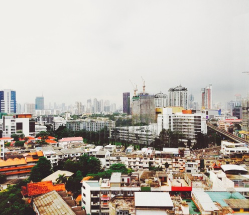 A grey morning in Bangkok